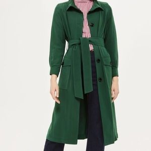 Topshop Long  trench